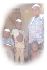 Kenyan Mom & Kids